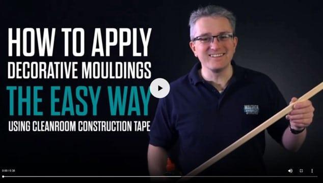 Applying Decorative Mouldings